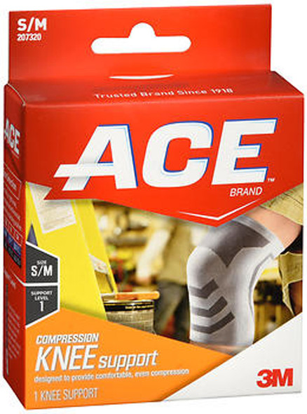 Ace Compression Knee Support S/M 207321 - 1 each
