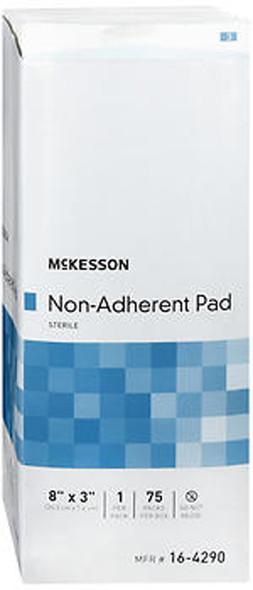 "McKesson Non-Adherent Pads 8""x3"" - 75 ct"
