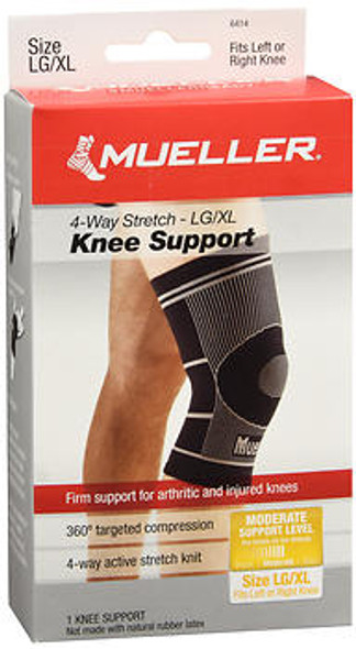Mueller 4-Way Stretch Knee Support Large/X-Large #6414