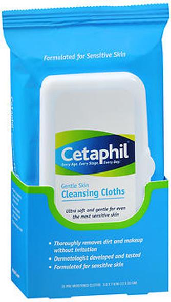 Cetaphil Gentle Skin Cleansing Cloths - 25 ct