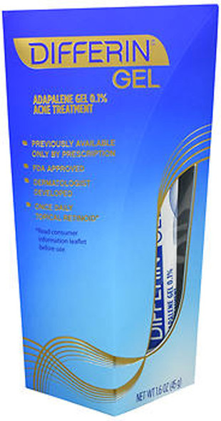Differin Gel Acne Treatment - 1.58 oz