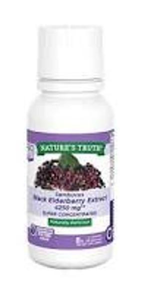 Natures Truth Sambucus Black Elderberry Liquid - 8 oz