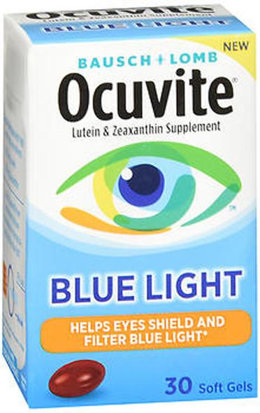 Bausch + Lomb Ocuvite Blue Light Soft Gels - 30 ct