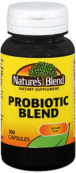 Nature's Blend Probiotic Blend Capsules - 100 ct
