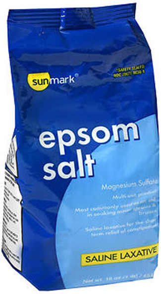 Sunmark Epsom Salt Saline Laxative - 1 lb