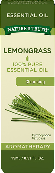 Nature's Truth Essential Oil Lemongrass - .5 oz