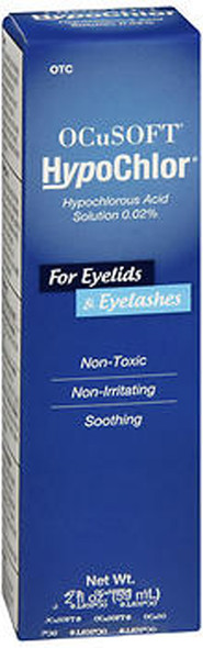 OCuSOFT HypoChlor Solution For Eyelids & Eyelashes - 2 oz