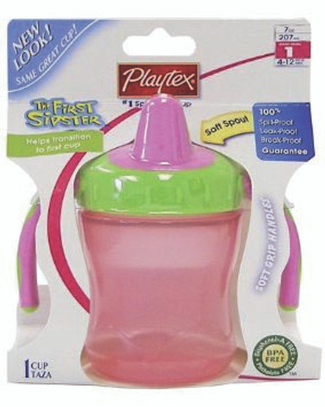 Playtex, First Sipster Cup - Asst, 6 oz