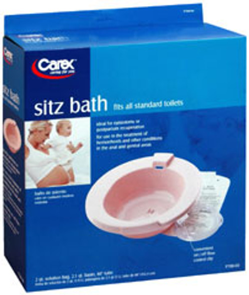 Carex Sitz Bath for Standard Toilets