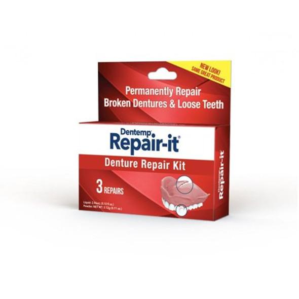 D.O.C. Repair-It Denture Repair Kit - 3 ct