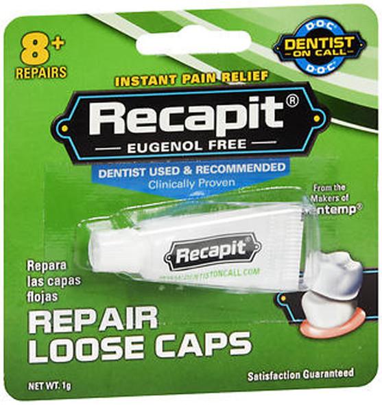 Recapit Loose Cap Dental Repair - 8 Repairs