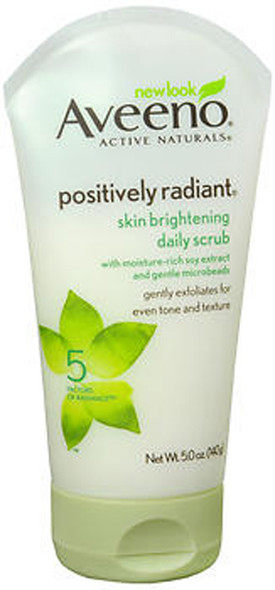 Aveeno Positively Radiant Skin Brightening Daily Scrub - 5 oz
