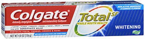 Colgate Total SF Whitening Toothpaste Gel - 4.8 oz