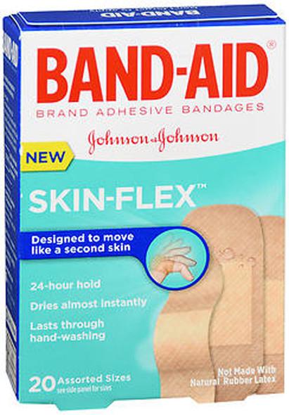 Band-Aid Skin-Flex Bandages Assorted Sizes - 20 ct