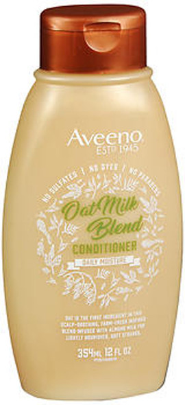 Aveeno Scalp Soothing Oat Milk Blend Conditioner for Daily Moisture and Light Nourishment - 12 oz