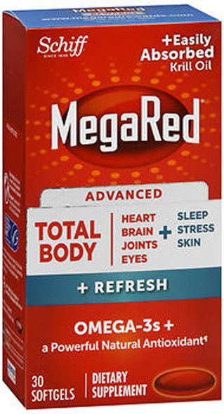Megared Total Body Care 7in1 Omega-3 Softgels - 30 ct