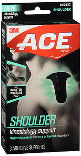 ACE Kinesiology Shoulder Support - 3 Each