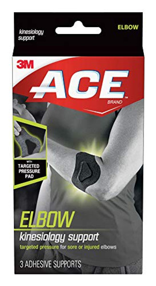 ACE Kinesiology Elbow Support - 3 Each