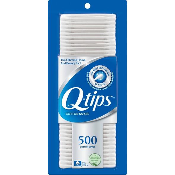 Q-tips Cotton Swabs - 500 ct