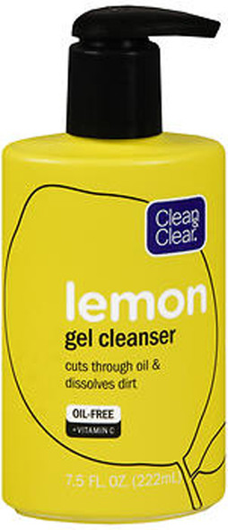 Clean & Clear Lemon Gel Cleanser - 7.5 oz