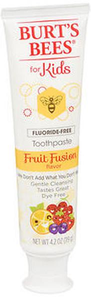 Burt's Bees for Kids Fluoride-Free Toothpaste Fruit Fusion Flavor - 4.2 oz
