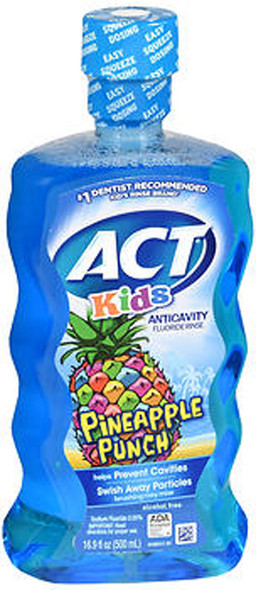 ACT Kids Anticavity Fluoride Rinse Pineapple Punch - 16.9oz