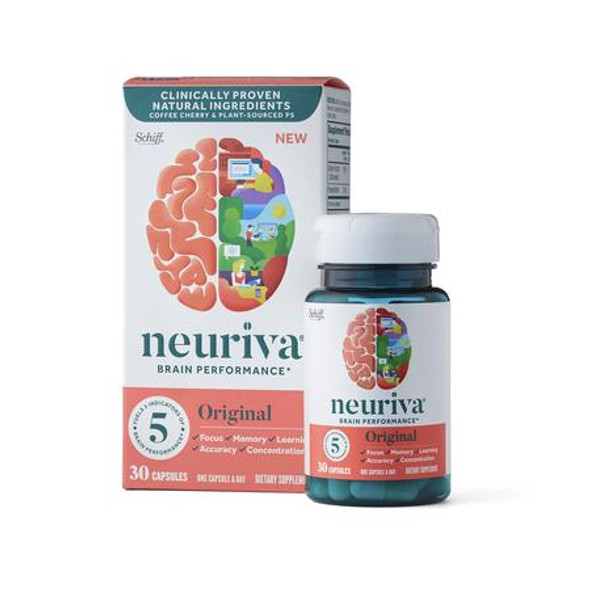 Neuriva Original, Brain Performance Supplement - 30 ct