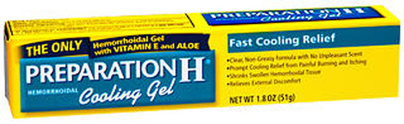 Preparation H Cooling Gel - 1.8 oz