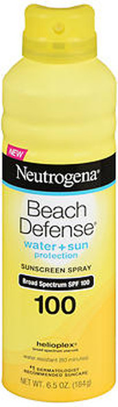 Neutrogena Beach Defense Sunscreen Spray SPF 100 - 6.5 oz