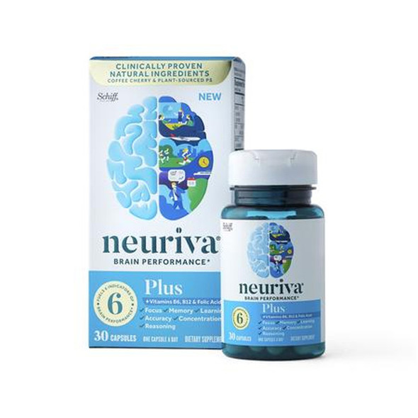 Neuriva Plus, Brain Performance Supplement - 30 ct