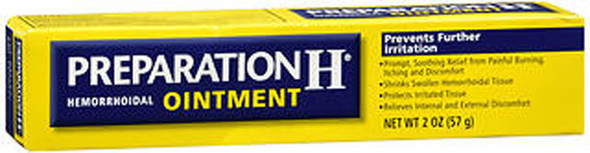 Preparation H Hemorrhoidal Ointment - 2 oz