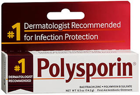 Polysporin Ointment - 0.5 oz