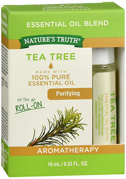 Nature's Truth Essential Oil Blend On the Go Roll-On Tea Tree - .33 oz