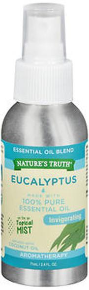 Nature's Truth Essential Oil Blend Eucalyptus Spray Invigorating - .5 oz