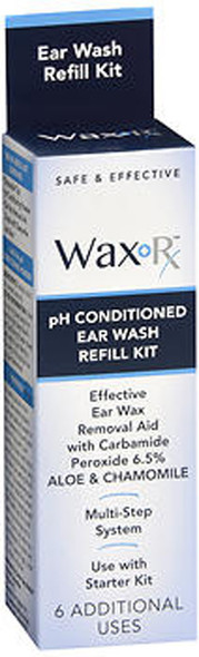Wax-Rx Ear Wash Refill Kit