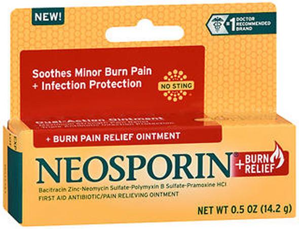 Neosporin + Burn Relief Ointment - .5 oz