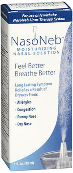 NasoNeb Moisturizing Nasal Solution