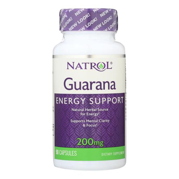 Natrol Guarana - 200 Mg - 90 Capsules