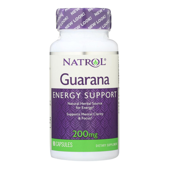 Natrol Guarana - 200 Mg - 90 Capsules