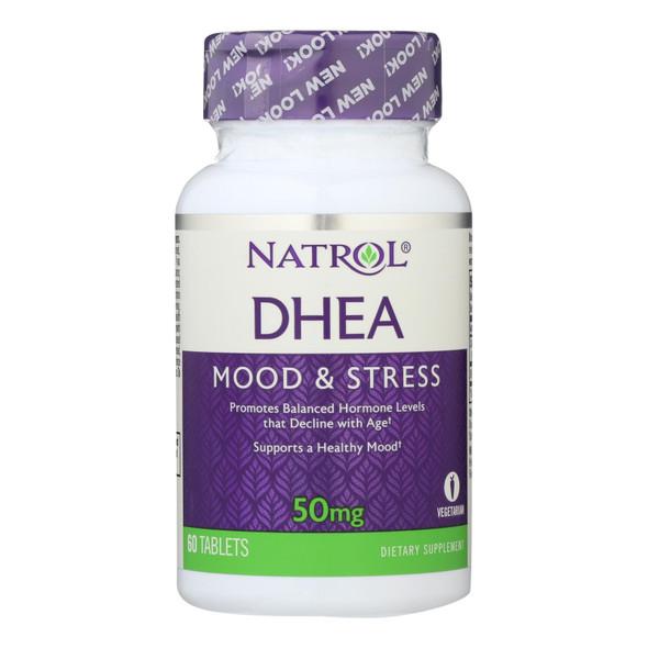 Natrol Dhea - 50 Mg - 60 Tablets