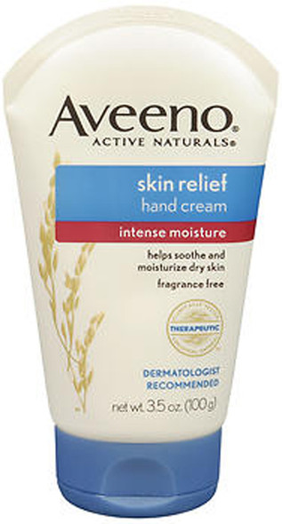 Aveeno Active Naturals Skin Relief Hand Cream -  3.5 oz