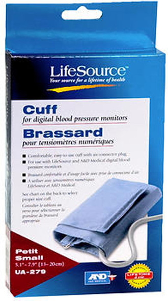 LifeSource Digital Blood Pressure Cuff, Small - 1 ea.