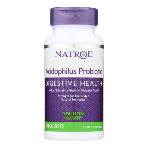 Natrol Acidophilus Probiotic - 100 Mg - 100 Capsules