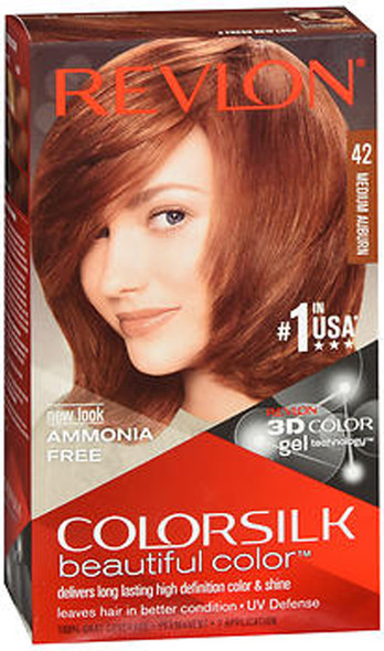 Revlon Colorsilk Hair Color 42 Medium Auburn