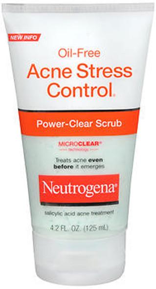 Neutrogena Oil-Free Acne Stress Control, Power-Clear Scrub -  4.2 oz
