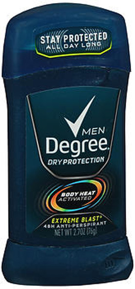 Degree Men Anti-Perspirant Deodorant Invisible Stick Extreme Blast - 2.7 oz
