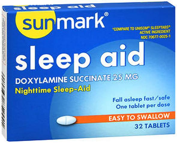 Sunmark Sleep Aid Tablets 25 mg - 32 ct