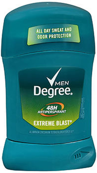 Degree Men Anti-Perspirant Deodorant Invisible Stick Extreme Blast - 1.7 oz