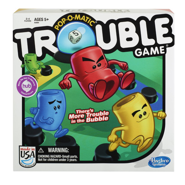 Trouble- Game - 1 Pkg