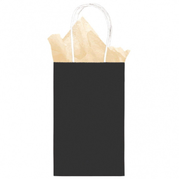 Kraft Bag-Small-Black - 1 ct